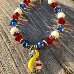 Jewelry - Support Our Troops bracelet